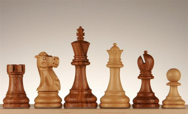 "4"" Classic Series Wood Pieces - Shishamwood - Piece - Chess-House"