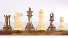 "4"" Executive Chessmen - Acacia Piece"