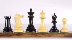 "4"" Executive Chessmen - Ebonized - Parts - Chess-House"