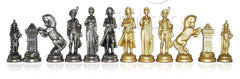 "4"" Napoleon Themed Metal Chessmen - Piece - Chess-House"