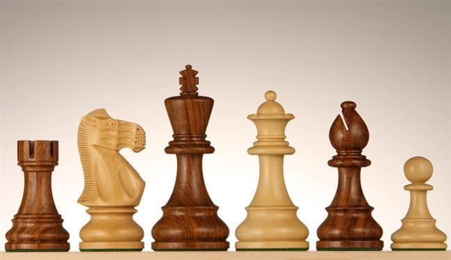 4 inch Weighted English Chessmen - Chess Pieces