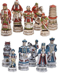 "5 3/4"" Ming Dynasty Themed Chessmen - Piece - Chess-House"