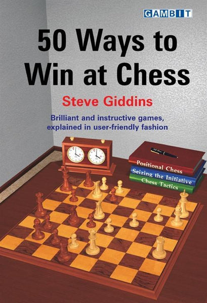 50 Ways to Win at Chess - Giddins - Book - Chess-House