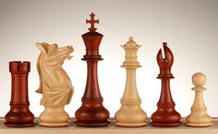 "6"" Napoleon Budrosewood Chess Pieces - Piece - Chess-House"