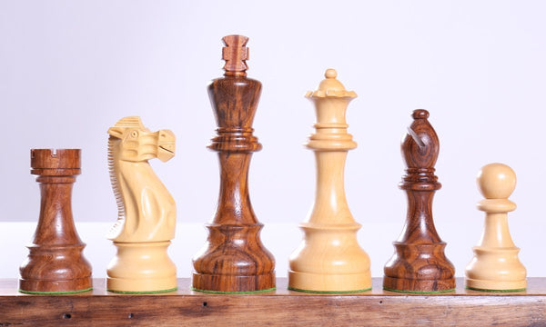"6"" Rosewood Chessmen - Piece - Chess-House"