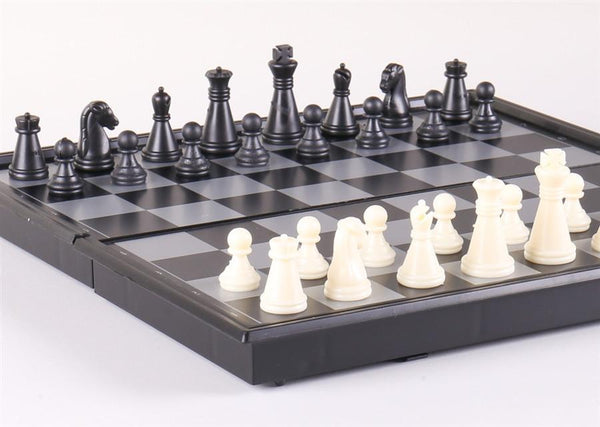 "7 3/4"" Magnetic Travel Chess Set - Chess Set - Chess-House"