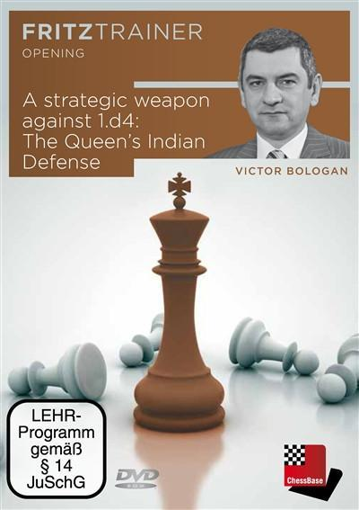 A Strategic Weapon Against 1.d4: The Queen's Indian Defense - Bologan - Software DVD - Chess-House