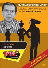 A World Champion's Guide to the King's Indian 2nd edition - Kasimdzhanov - Software DVD - Chess-House