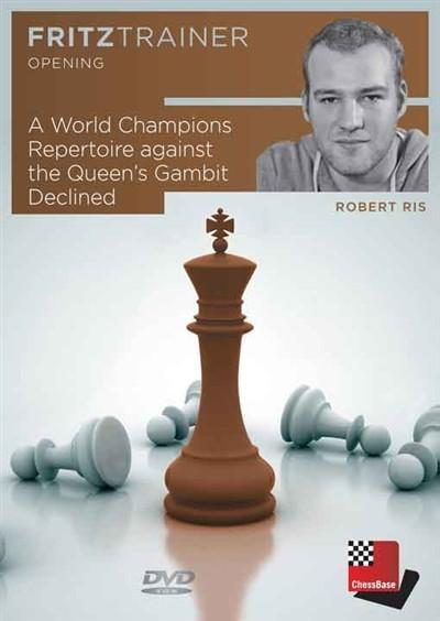 A World Champions Repertoire against the Queen's Gambit Declined - Ris - Software DVD - Chess-House