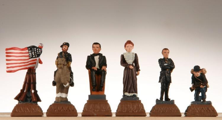 American Civil War Chess Pieces - Chess Pieces