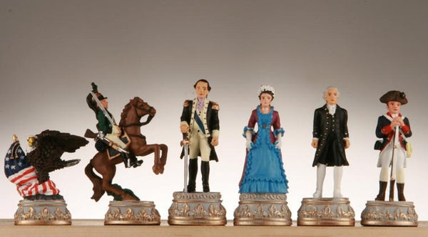 American Revolution Chess Pieces - Piece - Chess-House