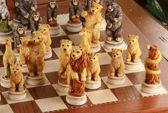Animal Kingdom Chess Set - Chess Set - Chess-House