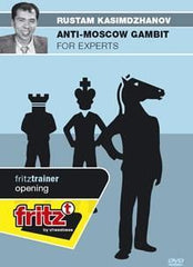 Anti-Moscow Gambit for Experts - Kasimdzhanov - Software DVD - Chess-House