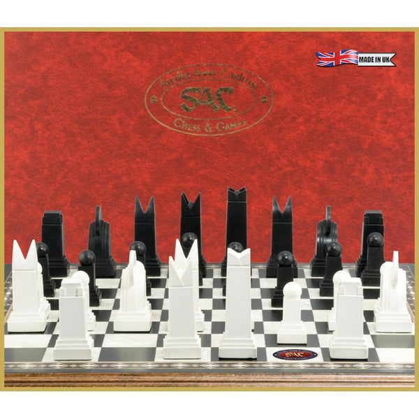 Art Deco Chess Pieces From Studio Anne Carlton - Piece - Chess-House