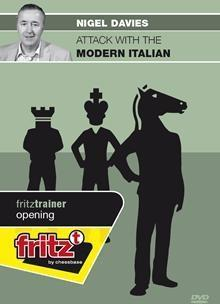 Attack with the modern Italian - Davies - Software DVD - Chess-House