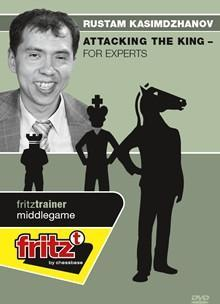 Attacking the King for Experts - Kasimdzhanov - Chess CDs and DVDs