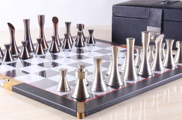 unique chess sets metal chess sets chess house 29893