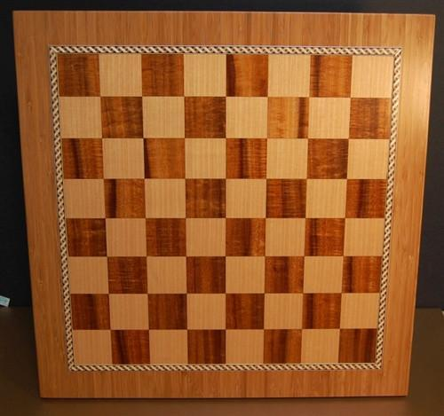 Bamboo Chess Board - Board - Chess-House