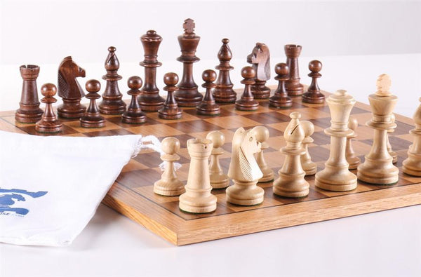 Basic Budget Wood Set - Chess Set - Chess-House