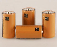 "Battery, 4 Pack ""C"" Battery - Clock - Chess-House"
