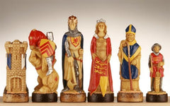 Battle of Bannockburn Handpainted Chess Pieces - SAC - Piece - Chess-House