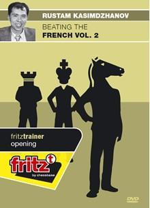 Beating the French Vol. 2 - Kasimdzhanov - Software DVD - Chess-House