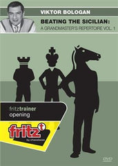 Beating the Sicilian: A Grandmasters repertoire Vol. 1 (DVD) - Bologan - Software DVD - Chess-House