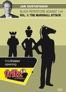 Black Repertoire against 1.e4 - Vol. 1: The Marshall Attack (DVD) - Gustafsson - Chess CDs and DVDs