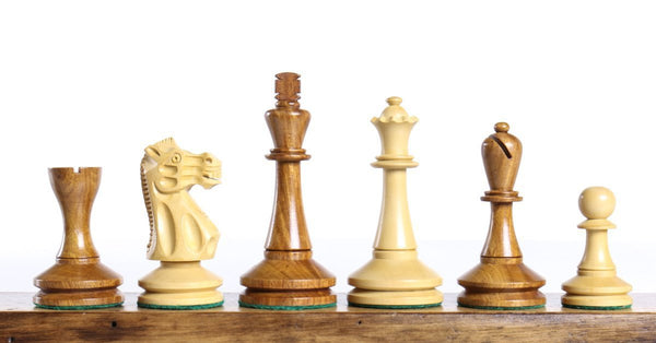 "Blackmore 3.75"" Chess Pieces In Acacia Piece"