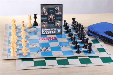 Brooklyn Castle Movie with Autographed Chess Set - Chess Set - Chess-House