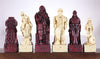 Celtic Vs. Vikings Chess Pieces - SAC Antique Finish Piece