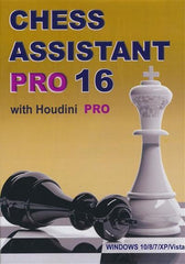 Chess Assistant 16 PRO with Houdini PRO (DVD) - Software - Chess-House