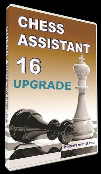 Chess Assistant 16 Upgrade (DVD) - Software - Chess-House
