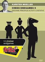 Chess Endgames 5 - Endgame Principles Activity & Initiative - Mueller - Software DVD - Chess-House