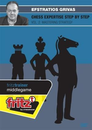 Chess Expertise Step by Step Vol. 2: Mastering Strategy (DVD) - Grivas - Chess CDs and DVDs