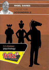 Chess for Scoundrels - Davies - Software DVD - Chess-House