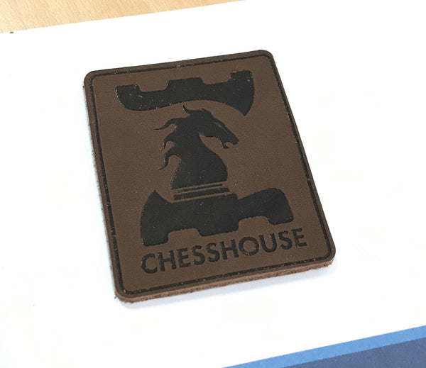 Chess House Leather Patch - Accessory - Chess-House
