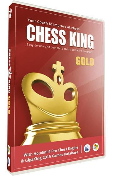 Chess King Gold with Houdini 4 Pro Chess Engine - Software - Chess-House