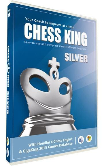 Chess King Silver with Houdini 4 Chess Engine - Software - Chess-House