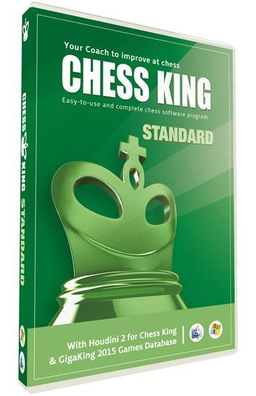 Chess King Standard with Houdini 2 for Chess King - Software - Chess-House