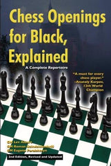Chess Openings for Black, Explained: 2nd Edition - Alburt - Book - Chess-House