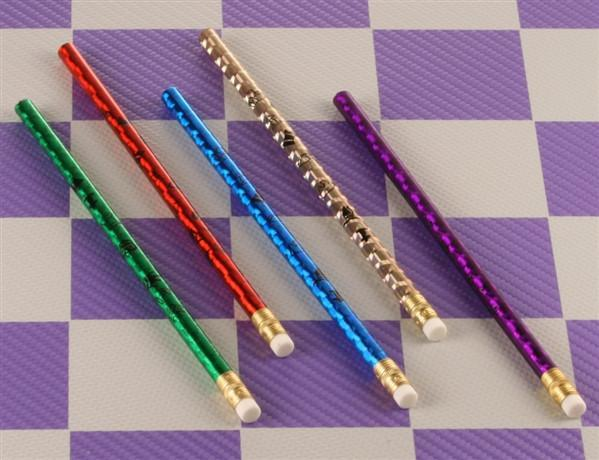 Chess Pencils - 5 Pack Assortment - Accessory - Chess-House