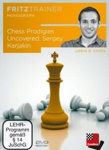 Chess Prodigies Uncovered: Sergey Karjakin - D'Costa - Software DVD - Chess-House
