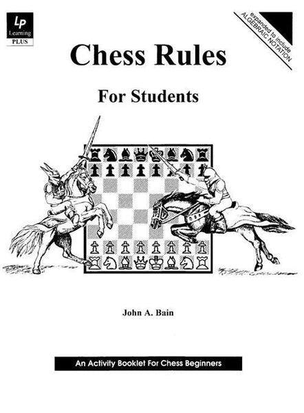 Chess Rules for Students - Bain - Book - Chess-House