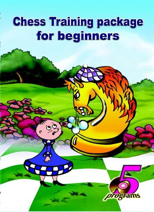 Chess Training package for beginners (five programs) - Chess CDs and DVDs
