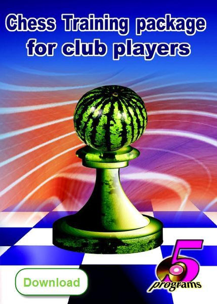 Chess Training Package for Club Players (download) - Software - Chess-House