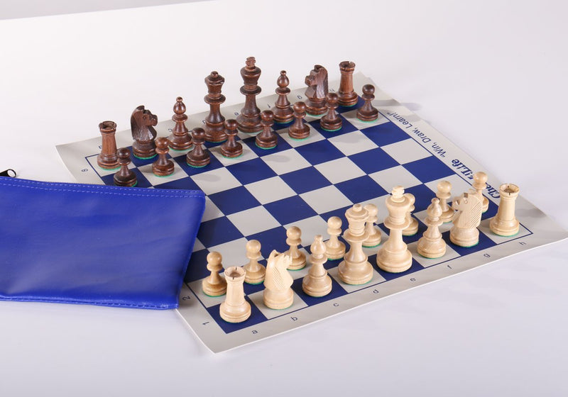 Chess4Life Mini Chess Set - Wooden Pieces