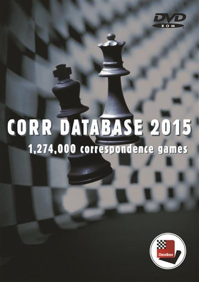 ChessBase Corr Database 2015 - Software DVD - Chess-House