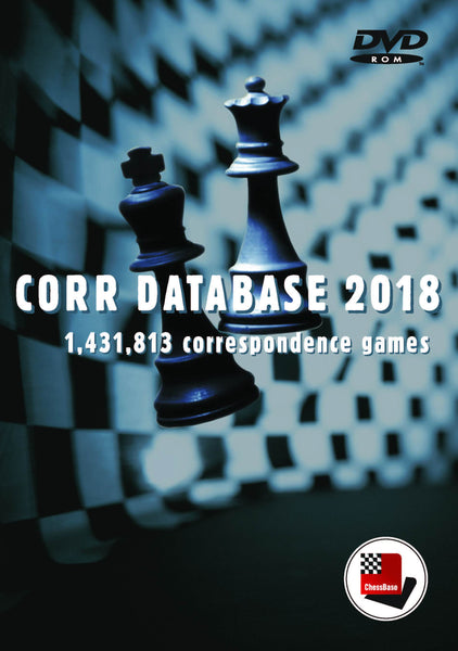 ChessBase Corr Database 2018 - Software DVD - Chess-House