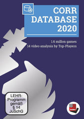 ChessBase Corr Database 2020 Software DVD